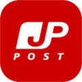 日本の郵便局のアプリ用アイコン、ロゴ、マーク